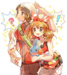 Brendan and May   Pokémon #anime