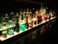 led baseline custom furniture bar decor bar shelf home bar back back bar lighting
