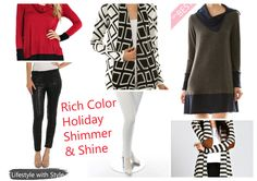 Holiday Chic Looks @ shoppinkluxe.com