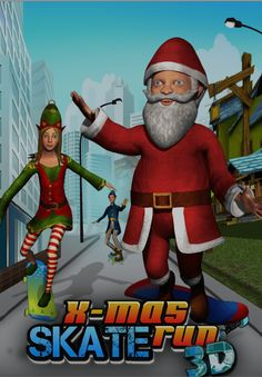 X-Mas Skate Run 3D Now Available on AppStore https://itunes.apple.com/in/app/x-mas-skate-un-3d/id931252001?mt=8  New Levels & New Challenges, Endless Fun...... https://play.google.com/store/apps/details?id=com.Pixslate.xmasSkate