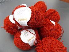 Garn Baum-Wolle 450 Gramm Domino GGH in rot 8