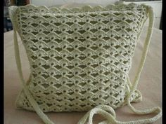 Easy Crochet Bag - YouTube