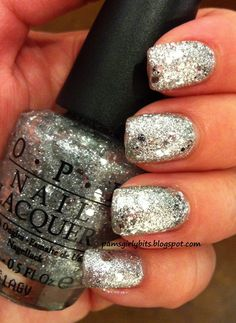 OPI crown me already- My absolute all time favorite silver glitter polish! A must have for any nail polish collection.