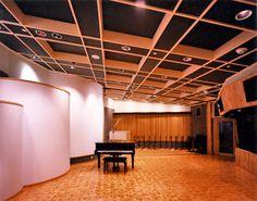 Paisley Park studio B recording room.(Shot 1987).before Prince painted the walls.