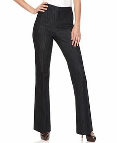 Ellen Tracy Wide Leg Trouser Jeans