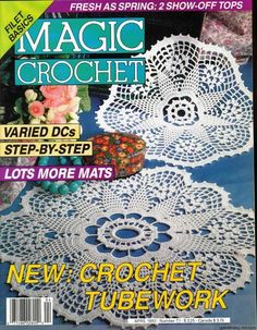 Issue 13 magic crochet magazine doily crochet patterns crochet issue 13 magic crochet magazine doily crochet patterns crochet magazine crochet and doilies ccuart Images