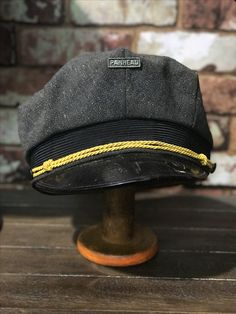 Vintage 1940s Panhead motorcycle hat, amazing vintage condition