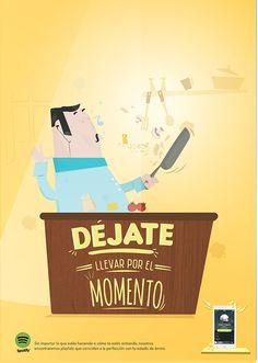 Nicolás Nariño, de #Bogotá (Colombia), nos envía esta #campaña para Spotify. ¿Qué te parece? ¡Envíanos tus #ideas, #anuncios o #campañas a info@adaspirant.com y las promocionaremos en nuestro portal, #facebook, #twitter y #pinterest! Además, participarán en el concurso ADaspirant.com como mejor anuncio del mes. ¿Te animas?