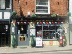 The Abbey Tea Rooms, Tewkesbury, England