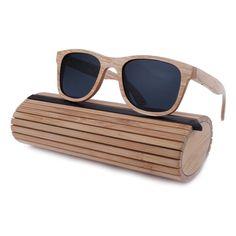 2c3a2fc7ac Fashion Wood Sunglasses Men Women Wooden Sun Glass Bamboo sunglasses bamboo  Eyewear Wood Glasses