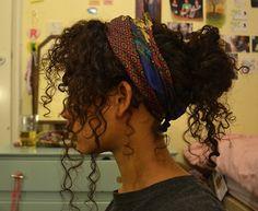 Head wrap. Hair wrap