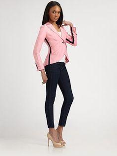 Smythe - Linen Tuxedo Blazer - Saks.com