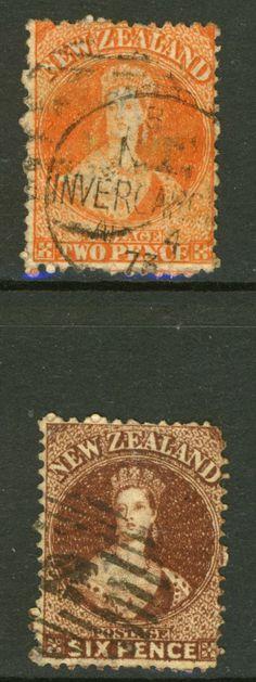 Alte #Briefmarken von #Neuseeland Old #stamps of New Zealand  More about #stamps: http://sammler.com/stamps/ Mehr über #Briefmarken: http://sammler.com/bm Briefmarken Britische Kolonien: http://sammler.com/bm/briefmarken-britische-kolonien.htm