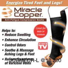 Miracle copper socks kaos Kaki anti Lelah (Black L)  Comment tidak dibalas Untuk pemesanan dan pertanyaan bisa kontak  LINE : xocutestuff WA : 085606119598 Www.tokopedia.com/aceboutique  #barangunik #barangmurah #aksesorisimport #aksesorismurah #barangimport #barangsurabaya #olshopsurabaya #olshopsby #alatrumahtangga #alatunik #unik #jualalatunik #perlengkapanrumahtangga #alatunikmurah #alatdapur #kadounik #kitchen #kitchentools #keperluanwanita #perlengkapanwanita #aksesoriswanita  Yummery…