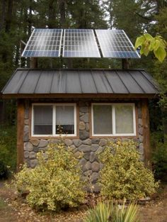 Off the grid house