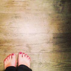 Rustic VINYL Flooring that looks like wood! SUPER AFFORDABLE!