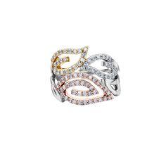 Sleek & Sophisticated dinner ring.