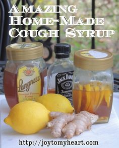 THIS REALLY WORKS!!!!   Amazing Home-Made Cough Syrup