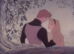 I know you, I walked with you once upon a dream. <3