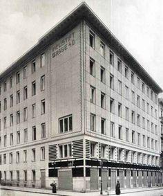 Otto Wagner, Wohnhaus, Neustiftgasse 40, Wien VII, 1909-1912 (Der Architekt, 1910)