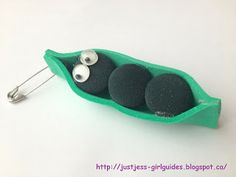 Peas in a Pod! Just Jess's Girl Guide Blog: Delicious Camp Hat Craft Ideas