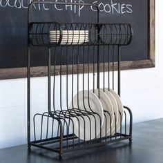 Counter or Hanging Dish Rack $64 Antique Farm House