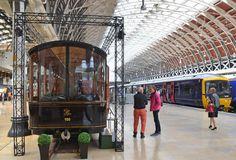 200m2 exhibits F&WHR's new luxury carriage at London Paddington - http://200m2.co.uk/x/exhibition-stand-london-paddington/