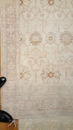 "Fine Transitional Zigler Runner; Wool; 12' x 3'1""."