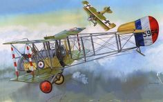 Airco DH 2 by Don Greer