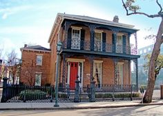 Historic Guesnard House in downtown Mobile.