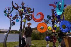Andrew Carson Seattle | ... Andrew Carson and Sheely Corbett of Seattle at the Marin Art Festival