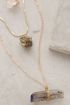 Stacked Stone Necklace - anthropologie.com #anthrofave