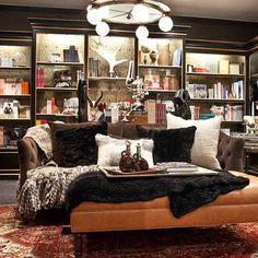 Dreaming in Diamante at Bergdorf Goodman Library (thank you, thank you, Lauren @4thfloorwalkup!)