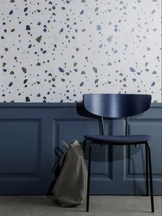 The wallpaper Terrazzo - 179 from Ferm Living is a wallpaper with the dimensions x 10 m. The wallpaper Terrazzo - 179 belongs to the popular wallpaper colle Furniture Design, Ferm Living Wallpaper, New Furniture, Terazzo, Home Wallpaper, Furniture, Interior, Ferm Living, Terrazzo