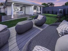 A range of Ausbuild display homes are conveniently located throughout Brisbane. Find the home that's perfect for you with Ausbuild. Swimming Pool Photos, Swimming Pools, Modern Pools, Display Homes, Big Houses, Pool Designs, Black House, Bean Bag Chair, New Homes