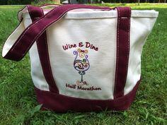 Disney's Wine & Dine Half Marathon Canvas Bag