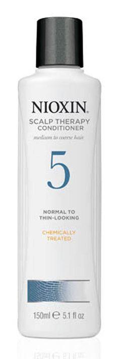 Nioxin System 5 Conditioner Scalp Therapy 5.1 oz / 150 ml medium to coarse  #Nioxin