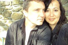 Leila ENGELS (née en 1969) peintre. avec Thierry de Bruma.