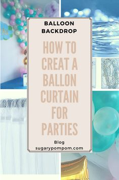 The Sugary Pompom Blog What is a party without balloons? It's not a party! 🎈🎈🎈 Join the balloon wall trend with the post in our blo and learn how you can do one💻📰 Don't forget to like, coment and subscribe👉 📩