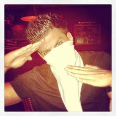 Jesse got ninja on.
