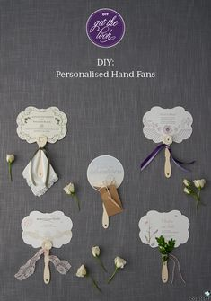 Diy Personalised Hand Fans