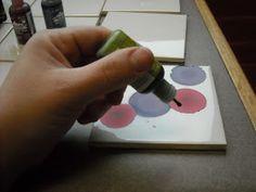 One Crayola Short: Adirondack Alcohol Inks