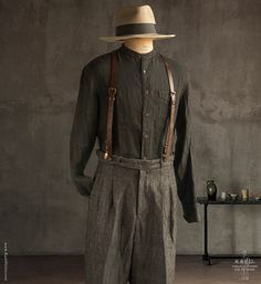 1940s Fashion, Vintage Fashion, Mens Fashion, Looks Style, My Style, Mens Attire, Historical Costume, Work Wear, Cool Outfits