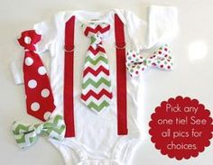 Christmas outfit for baby boy. Tie and Suspender Chevron for Christmas. Christmas clothes for toddlers. Baby Boy Christmas Outfit, Girls Christmas Outfits, Babies First Christmas, Christmas Baby, Christmas Clothes, Chevron Christmas, Baby Boys, Cute Baby Boy, Bodysuit
