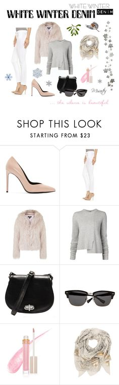 """""""If you listen carefully ..."""" by misartes ❤ liked on Polyvore featuring Yves Saint Laurent, Joe's Jeans, Topshop, Proenza Schouler, Ted Baker, Stila and Sophie Darling"""