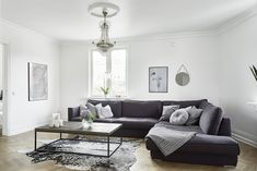 Why Is Living Room Scandinavian Style So Famous? Living Room Grey, Living Room Decor, Living Room Designs, Living Spaces, Living Rooms, Living Room Scandinavian, Scandinavian Style, Scandinavian Apartment, Nordic Style
