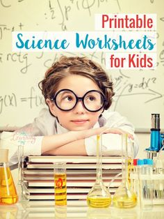 Grab these free printable science worksheets for kids to make learning fun