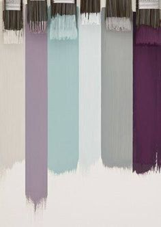 Master Bedroom colour scheme – definitely Light grey walls | Dusky purple curtains | furnishing in the other colours (or follow through into the en… … | Interior Design Pro
