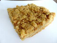 Apfelmus-Streuselkuchen vom Blech