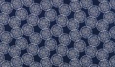 Fabric | Duralee - John Robshaw   Pattern/Color: 21034-193  Description: Indigo
